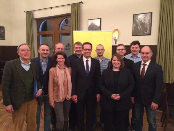 Mannheim – Mitgliederversammlung der FDP Mannheim – Florian Kußmann wiedergewählt