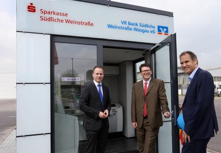 Rohrbach – Gemeinsame SB-Geschäftsstelle von VR Bank und Sparkasse ...