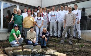 Mosbach – Auch das Wetter sorgte für Abwechslung – Johannes-Diakonie: Audi-Auszubildende verbrachten Projektwoche in Mosbacher Werkstätten
