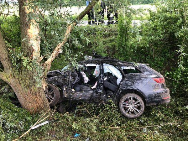 Neustadt – Erstmeldung: Schwerer Verkehrsunfall Flugplatzstraße – Rettungshubschrauber im Einsatz