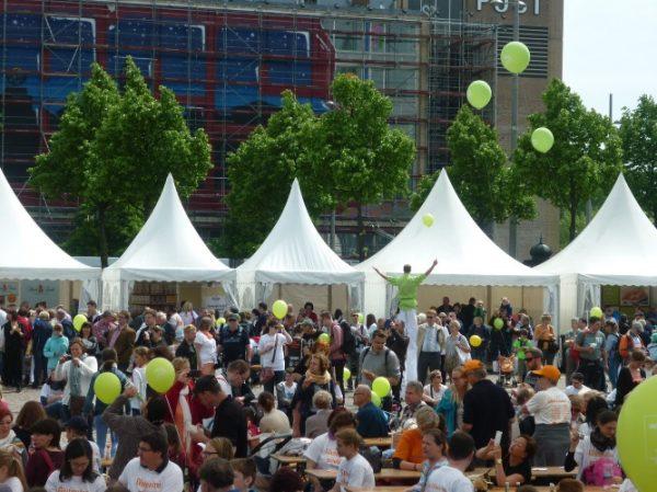 Ludwigshafen – Glutenfreies für Alle in Ludwigshafen am Rhein – Die Deutsche Zöliakie-Gesellschaft e.V. feiert mit einer großen Outdoorveranstaltung den Welt-Zöliakie-Tag