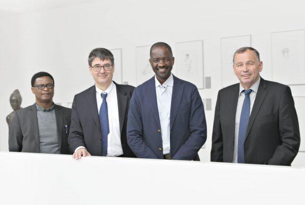 Heidelberg – Krebsprävention ist eine globale Aufgabe! Gesundheitsminister aus Namibia informiert sich im Deutschen Krebsforschungszentrum