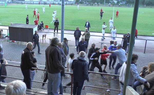 Sandhausen – Ausschreitungen bei Oberligaspiel zwischen SV Sandhausen II und dem 1. CfR Pforzheim