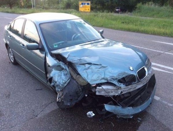 Neustadt – Schwerer Verkehrsunfall mit 5 verletzten Personen in Lachen-Speyerdorf