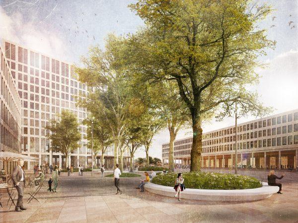 Heidelberg – Bahnstadt: Büro POLA Landschaftsarchitekten aus Berlin gewinnt ersten Preis zum Bahnhofsplatz Süd! Attraktiver Stadtplatz mit hoher Aufenthaltsqualität südlich des Hauptbahnhofs geplant