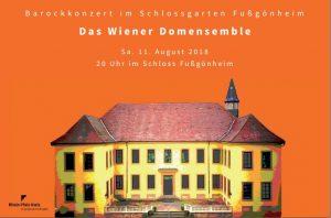 Rhein-Pfalz-Kreis – Barockkonzert im Schlossgarten Fußgönheim