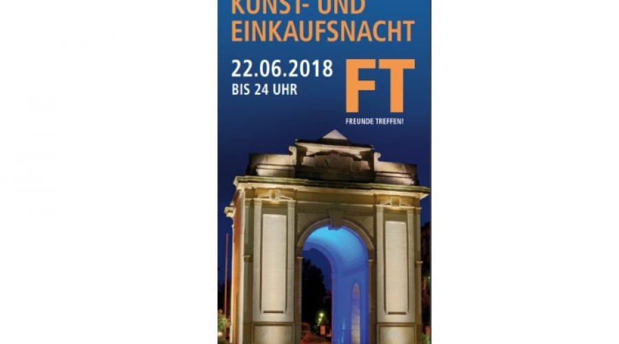 Frankenthal –  13. Frankenthaler Kunst- und Einkaufsnacht am 22.06.2018