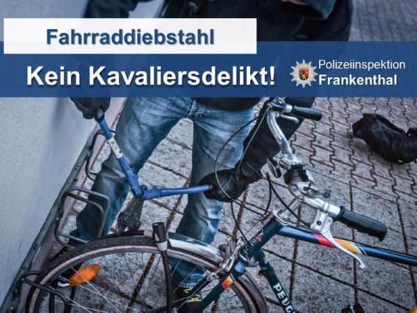 Maxdorf – Fahrraddiebstahl am Schulzentrum