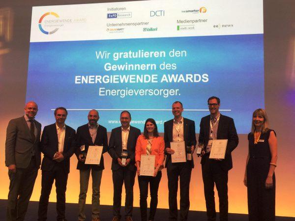 """Heidelberg – Stadtwerke Heidelberg gewinnen Energiewende Award! Unternehmen in der Kategorie """"Strom"""" ausgezeichnet"""