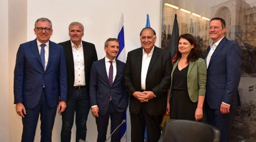 Mannheim – Oberbürgermeister Dr. Peter Kurz in Haifa – Teilnahme an den Feierlichkeiten zum 70-jährigen Jubiläum des Staates Israel