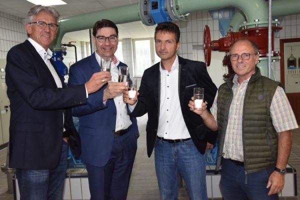 Landau – Tag der Daseinsvorsorge – OB Hirsch informiert sich bei Vor-Ort-Termin im Wasserwerk der EnergieSüdwest über Wasserversorgung in Landau