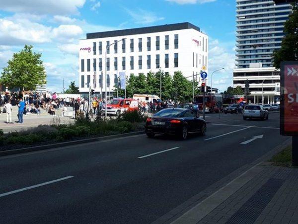Ludwigshafen – Rhein-Galerie evakuiert