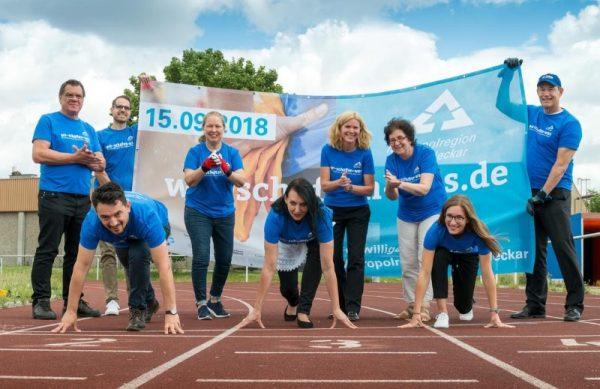 Mannheim – Glücksgefühle garantiert: Freiwilligentag der Metropolregion Rhein-Neckar