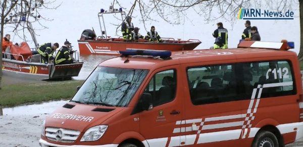 Mannheim – Aktuell größerer Rettungseinsatz am Cahn-Garnier-Ufer