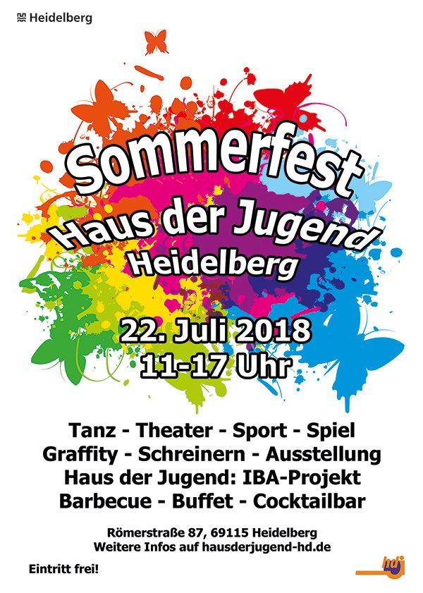 Heidelberg – Haus der Jugend feiert Sommerfest!