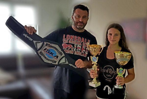 Ludwigshafen – Fußballblog unterwegs:  Alessia Amato deutsche Meisterin im K1/Kickboxing bis 47kg