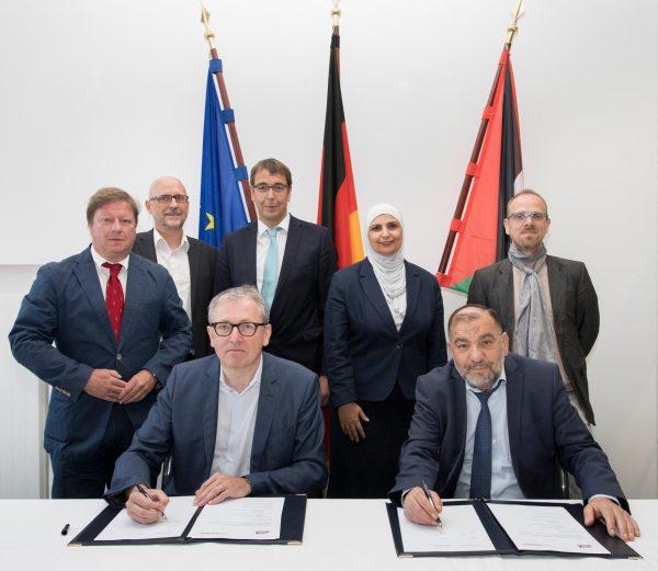 Mannheim – Oberbürgermeister von Hebron zu Gast in Mannheim