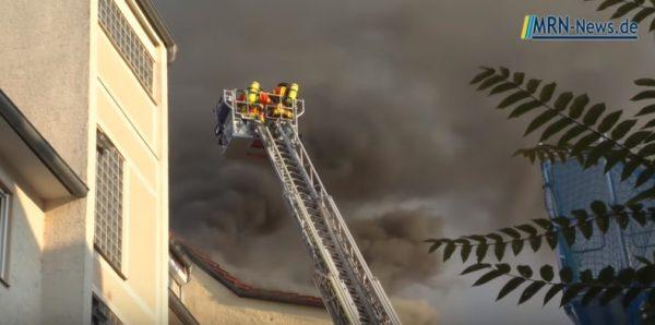 Landau – 2.Nachtrag: Großbrand eines Mehrfamilienhauses in der Innenstadt