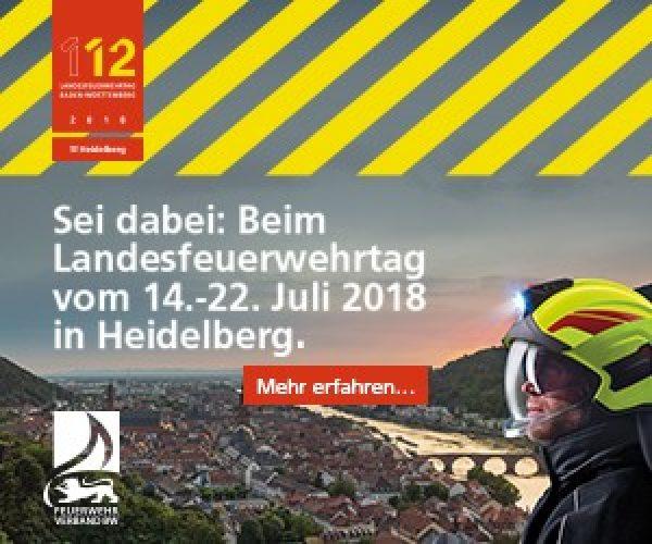 Heidelberg – Landesfeuerwehrtag Baden-Württemberg: OB Eckart Würzner lädt die Metropolregion ein