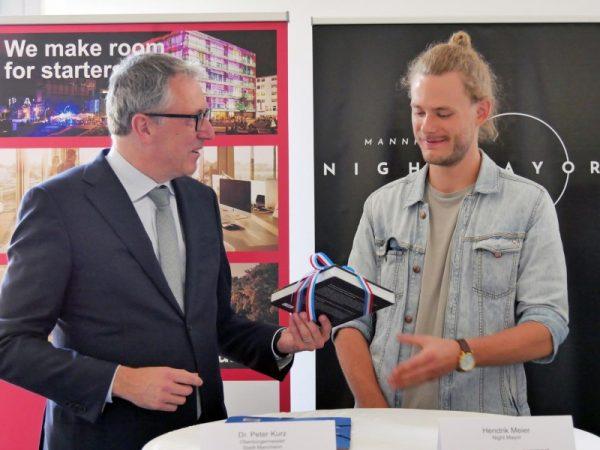 Mannheim – Hendrik Meier ist Mannheims erster Night Mayor