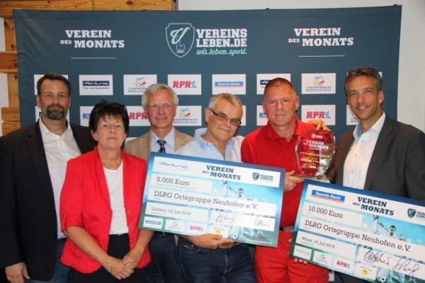 """Ludwigshafen – DLRG-Ortsgruppe Neuhofen ist """"Verein des Monats""""- Projekt Auch Kinder können helfen – na klar! ausgezeichnet"""