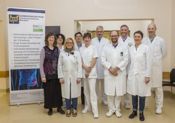 Mannheim – Darmkrebszentrum am Theresienkrankenhaus erneut ausgezeichnet