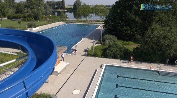 Ludwigshafen – Freibad öffnet am Freitag wieder länger