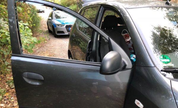Ludwigshafen – Schon wieder Auto aufgebrochen – Unbekannte schlugen in der Riedstraße Heckscheibe ein