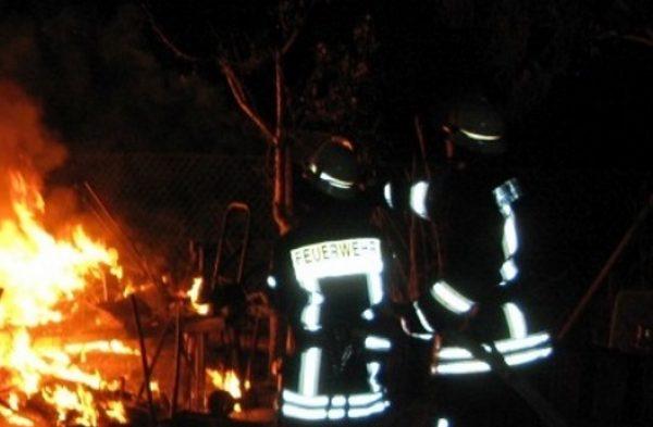 Ludwigshafen – Gartenlauben in der Kleingartenanlage Riedlangstraße abgebrannt