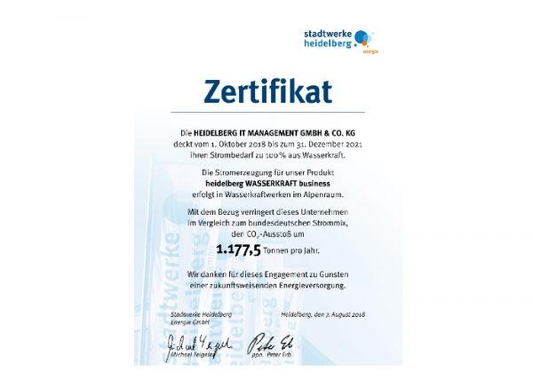 Heidelberg – Heidelberg iT bekennt sich zu Stadtwerken als Energieversorger