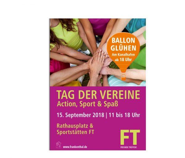 Frankenthal – Tag der Vereine, Sport + Dubbe Goal am 15.September