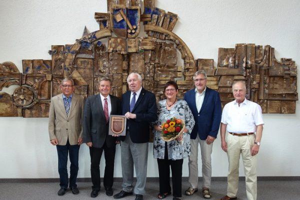 Mutterstadt – Verdienstmedallie für Dr. Michael Geist