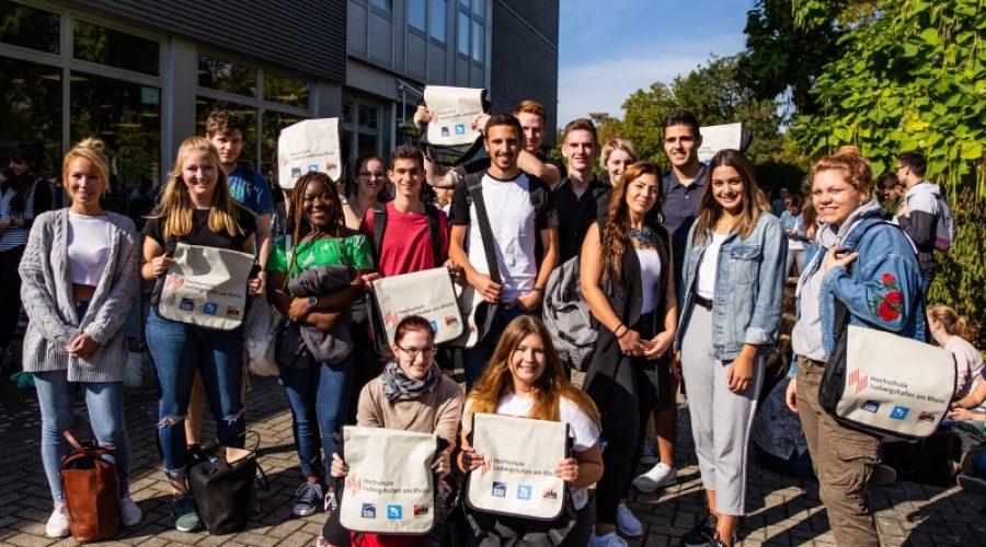 Ludwigshafen – Erstsemesterbegrüßung an der Hochschule Ludwigshafen