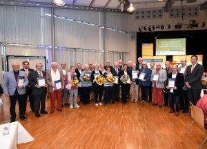 Rhein-Pfalz-Kreis – VR Bank Rhein-Neckar eG ehrt langjährige Mitglieder in Mutterstadt