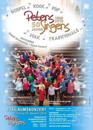 Heidelberg – Jubiläumskonzert der PetersSingers