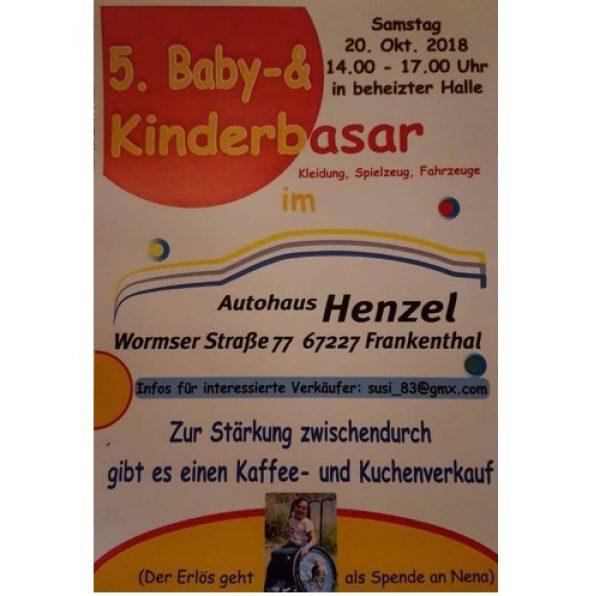 Frankenthal – 5.Baby- und Kinderbasar im Autohaus Henzel