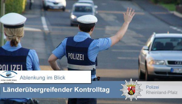Ludwigshafen – sicher.mobil.leben – Das Polizeipräsidium Rheinpfalz zieht Bilanz zum gestrigen Kontrolltag
