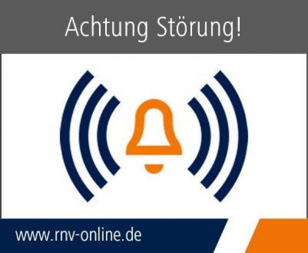 Heidelberg – Aktuell:Wegen Unfall Strecke Betriebshof-Bismarckplatz für Straßenbahnen gesperrt