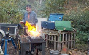 Weinheim – Der Schmied zu Besuch im AWO Waldkindergarten Großsachsen