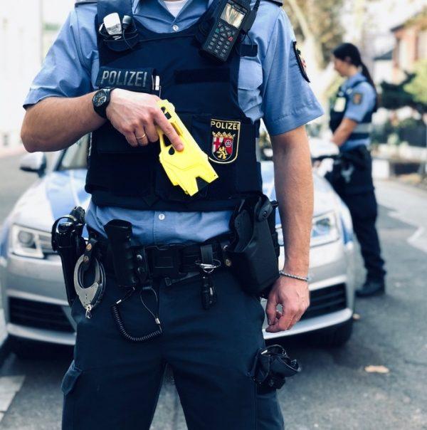 Ludwigshafen – Distanz-Elektroimpulsgeräte (#DEIG), sogenannte #Taser, ab sofort beim Polizeipräsidium Rheinpfalz im Stadtgebiet  im Einsatz