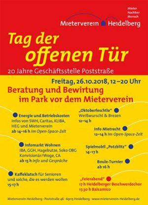 Heidelberg – Tag der offenen Tür beim Mieterverein