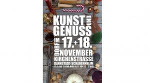 Dannstadt-Schauernheim – Dannstadt begrüßt den Advent mit Kunst & Genuss im Dorf am 17. und 18. November in der Dannstadter Kirchenstraße