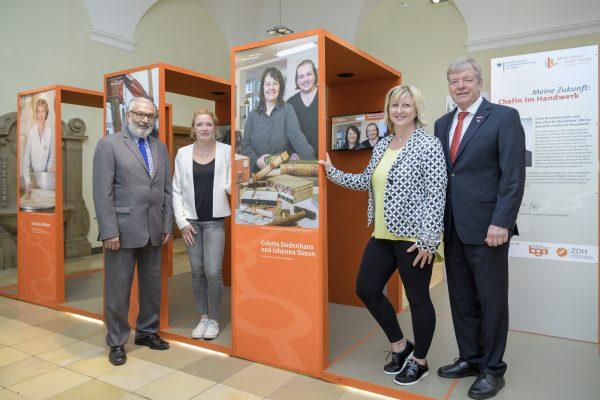 """Heidelberg – Heidelberger Frauenwirtschaftstage: Ausstellung """"Chefinnen im Handwerk"""" und mehr! Vorträge, Messe und Frauenfrühstück vom 18. bis 20. Oktober 2018"""