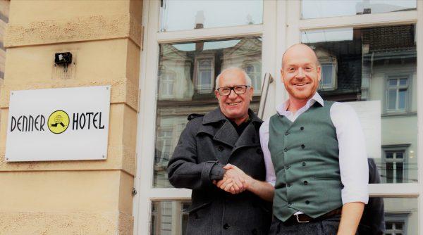 Heidelberg – Bayrischer Hof übernimmt Hotel Denner – Nach 20 Jahren übergibt Reiner Raschke sein Hotel an Dieter Hölle von der Academy Group Hotels & Restaurants
