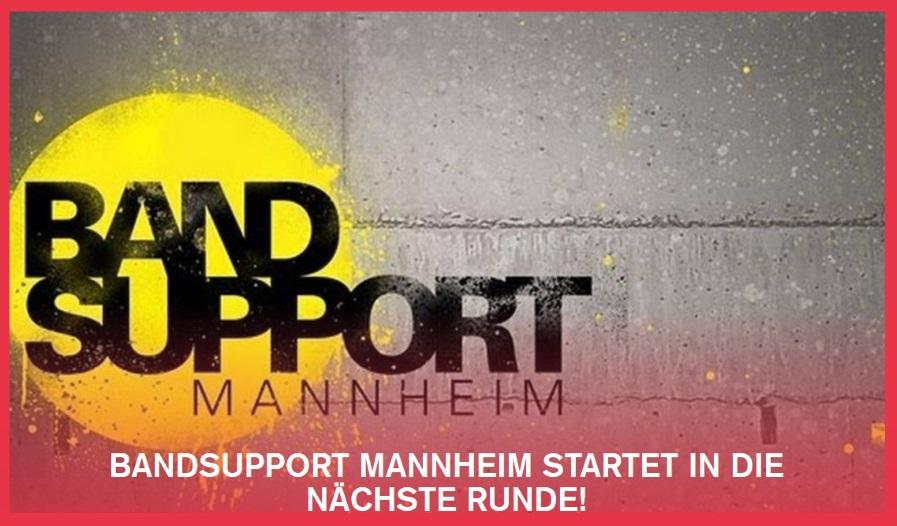 1e0854b679040 Mannheim   Metropolregion Rhein-Nekar – Das Förderprogramm Bandsupport  Mannheim lädt am 24. November zum Abschlusskonzert ins Jugendkulturzentrum  forum ein.