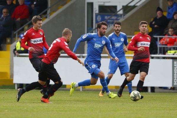 Walldorf – Erster Heimsieg deer Saison  – FC Astoria Walldorf – TSG Balingen 3:0 (1:0)