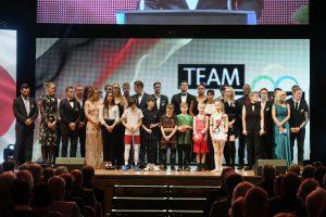 """Heidelberg – Weltklasse """"Made in Rhein-Neckar!"""" Offizielle Vorstellung des Team Tokio Rhein-Neckar gelungen mit 35 Athleten und eine 21-köpfigen Rugby-Mannschaft"""