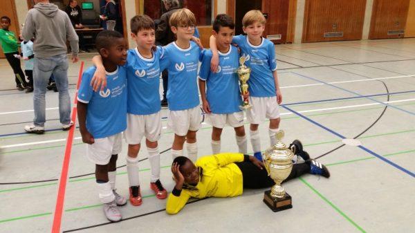 Ludwigshafen – Hallenfußballturnier der Grundschulen 2018 – Wanderpokal geht wiederholt an die Grundschule Wittelsbachschule