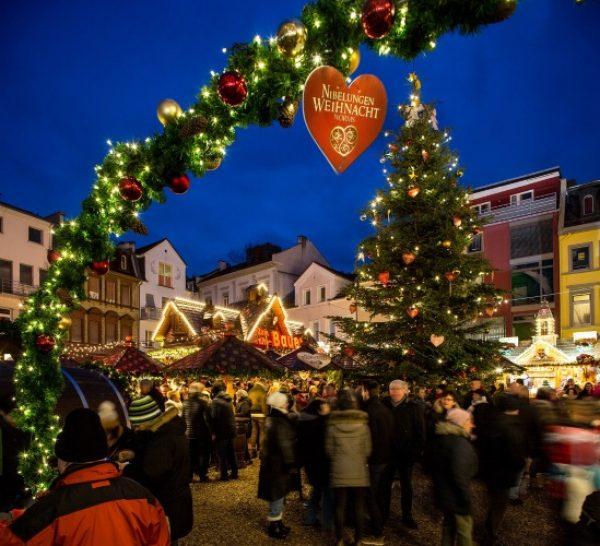"""Worms – Ab dem 26. November weihnachtet es in Worms wieder unter dem Motto """"Nibelungen Weihnacht"""""""