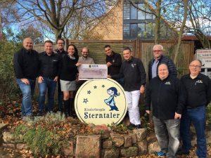 Ludwigshafen – EDEKA Märkte übergeben 5.000 Euro an Kinderhospiz Sterntaler